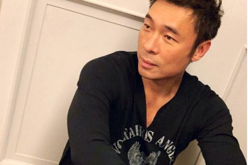 Singer Andy Hui (above) will star in a TV series whose Chinese title translates to Accept The Challenge, Producer!.