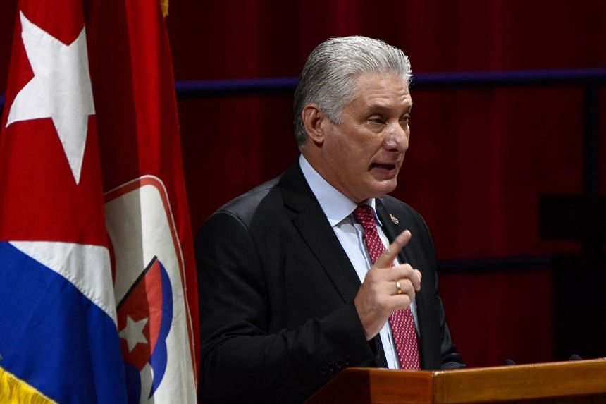 Miguel Diaz-Canel, 60, was born after the revolution and already succeeded Raul Castro as Cuba's president in 2018.