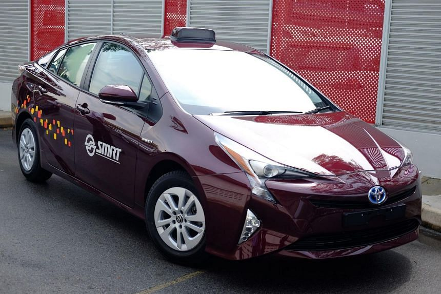 The first batch of 300 electric taxis will arrive progressively in Singapore from July.