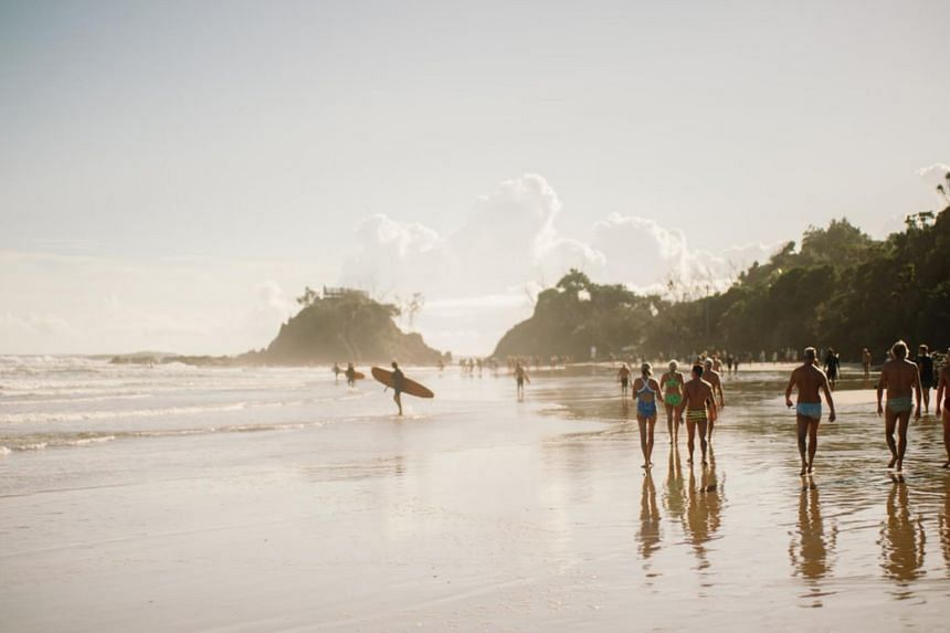 Byron Bay is home to about 10,000 people and in recent years has attracted a string of Hollywood stars to its shores.