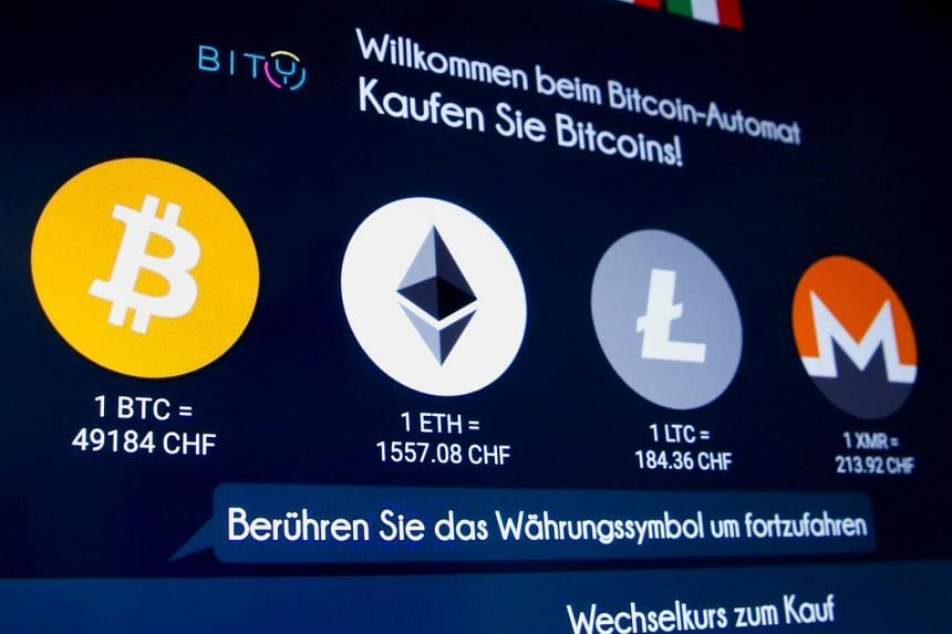 The second-largest cryptocurrency, Ether, fell 5.1 per cent to US$2,097 on April 20, 2021.