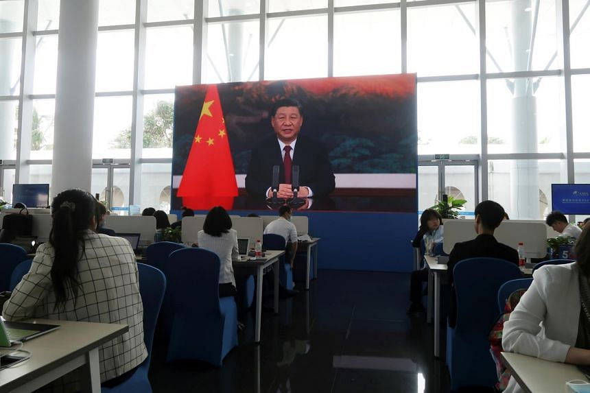 Speaking virtually at the Boao Forum in Hainan, Chinese President Xi Jinping said there is no place for unilateralism or hegemony.