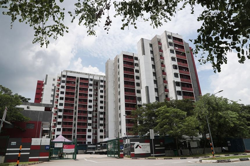The sole locally transmitted case of Covid-19 reported on April 20, 2021, is a resident at Westlite Woodlands Dormitory.