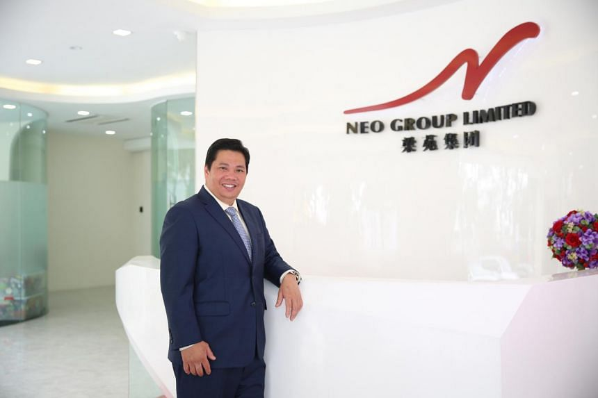 Neo Group's founder, chief executive officer and chairman Neo Kah Kiat.