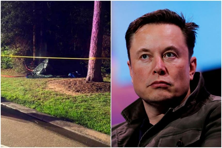 Tesla chief Elon Musk rejected the idea that the vehicle's driving software was to blame for the crash.