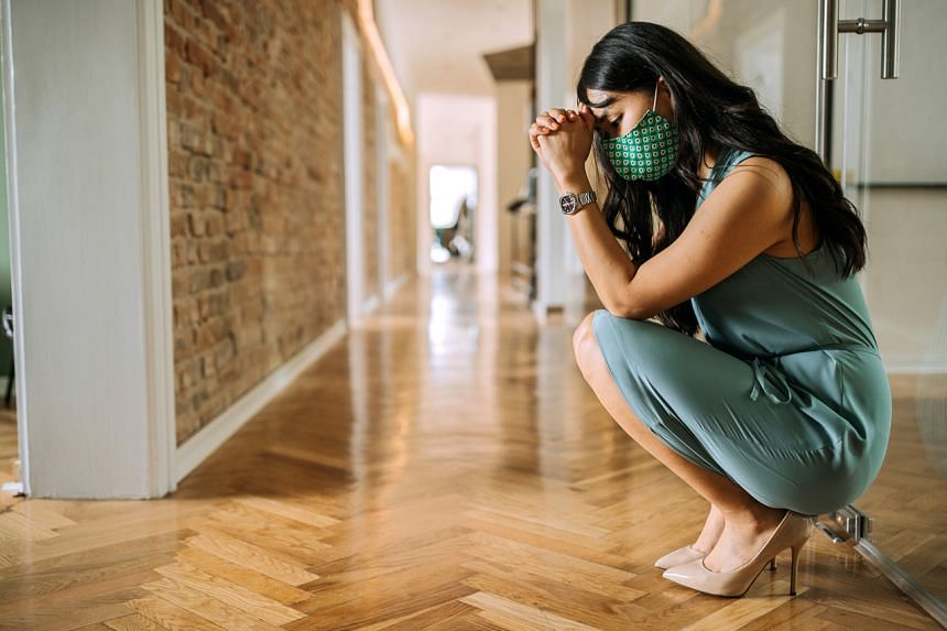 Re-entry anxiety occurs when people experience higher levels of anxiety and stress in response to the fear of changes.