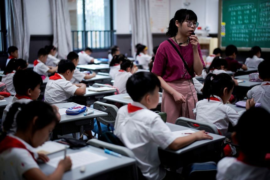 China's Education ministry issued a series of guidelines early this month, recommending that primary school pupils get at least 10 hours' sleep a day.