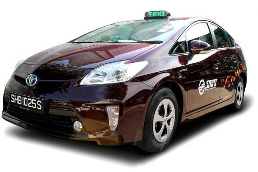 SMRT's transition to cleaner-energy taxis began in 2013 when more than 600 Toyota Prius Hybrid cabs were added. Last year, its fleet became 100 per cent hybrid.