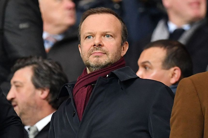 Media reports in Manchester said Woodward (above) would stay in his role until the end of the year.