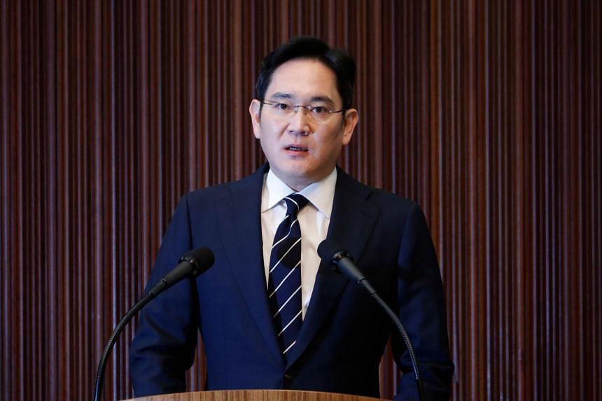 Samsung heir Lee Jae-Yong, who is currently serving a 30-month prison term for bribery, has a 0.7 per cent stake in the company.
