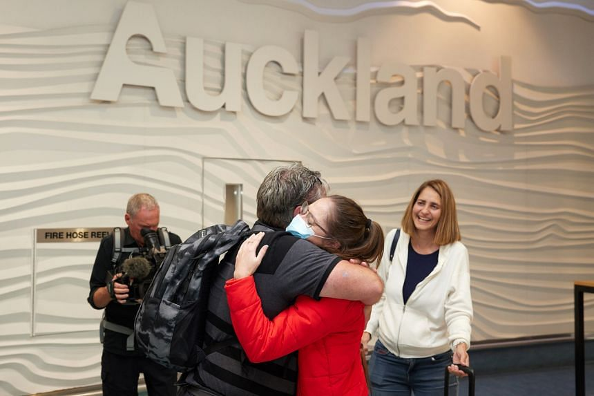 The opening of the travel bubble has led to tearful reunions and the excited resumption of overseas holidays.