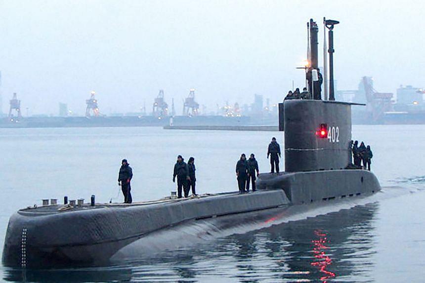 Indonesia's Nanggala-402 vessel went missing on April 17, 2021.