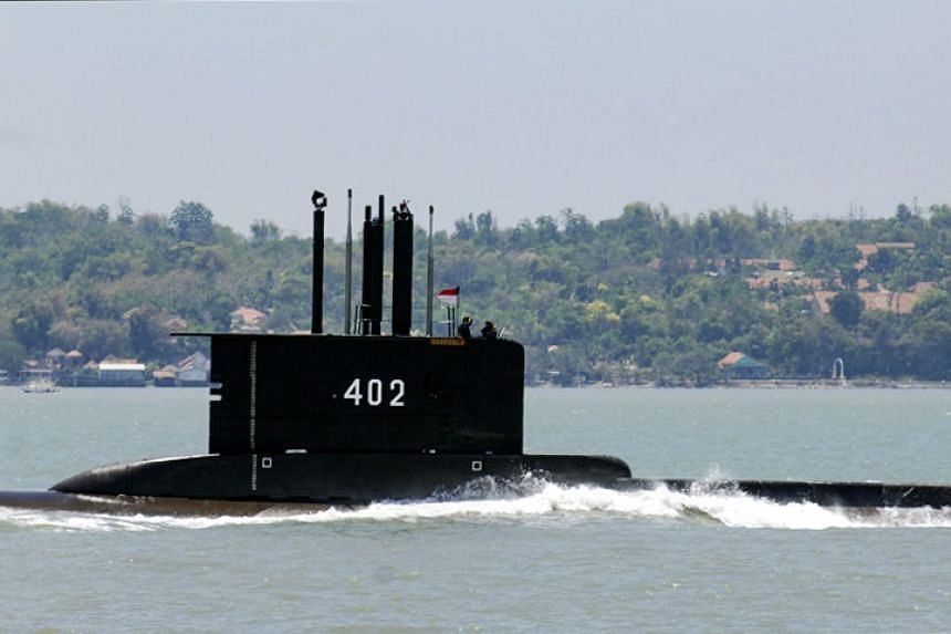 The Indonesian Navy submarine KRI Nanggala-402 went missing with its crew of 53 in waters off Bali on April 21, 2021.