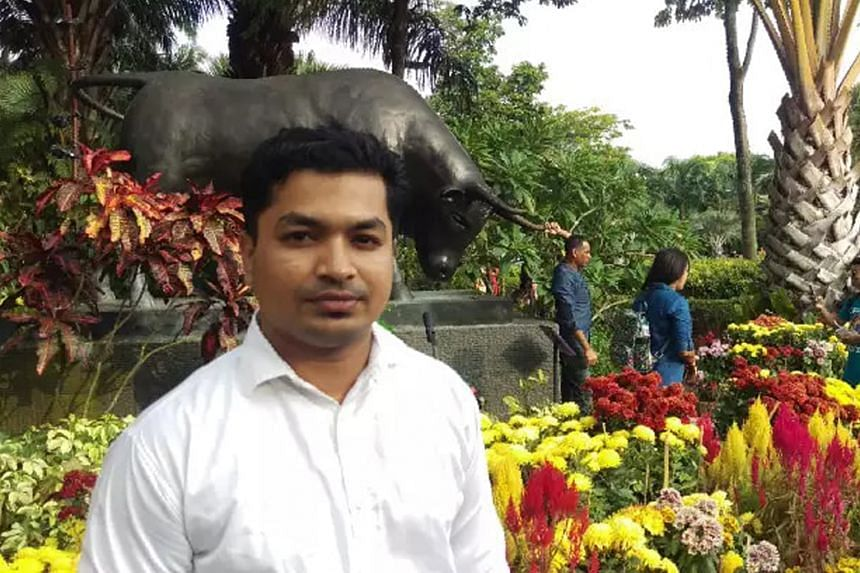 Bangladeshi national Toffazal Hossain, 33, was one of 17 migrant workers travelling in a lorry when it collided with a stationary tipper truck. He died later in hospital.