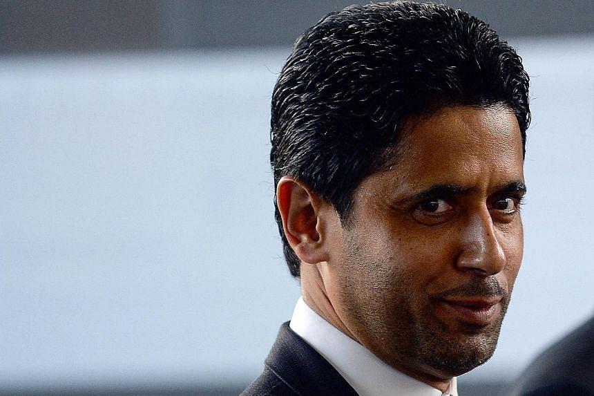 Newly appointed ECA head Nasser Al-Khelaifi (left) has been backed by Uefa boss Aleksander Ceferin.