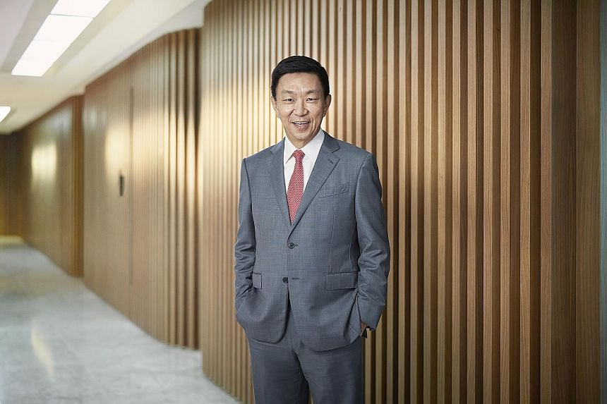 Keppel Corporation chief executive Loh Chin Hua (above) said the group's higher revenue was mainly due to higher contributions from the urban development and asset management segments, offset by lower revenues from the energy and environment sector.