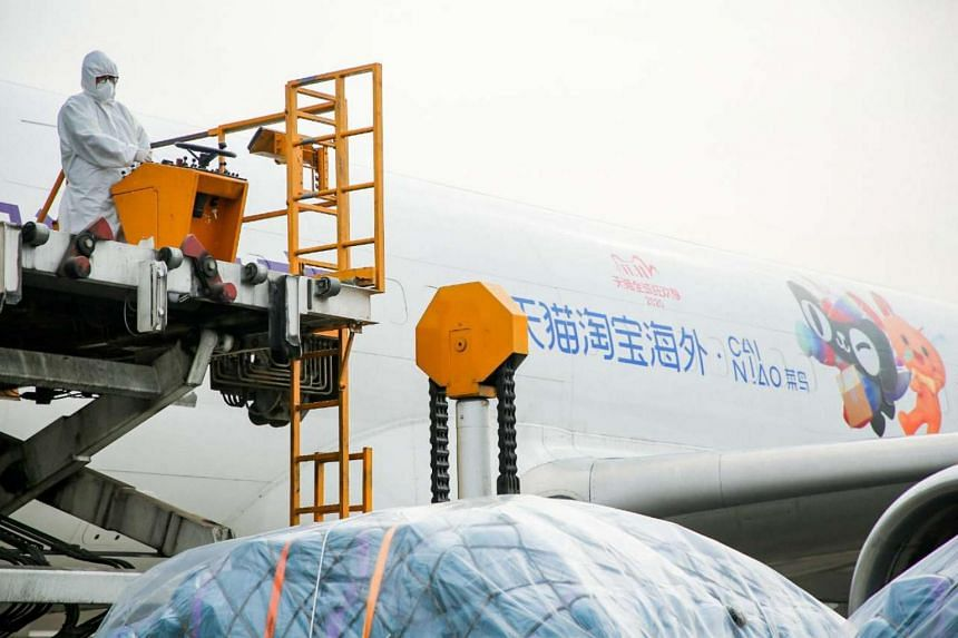 Cainiao plans to run seven return flights a week between Singapore and Hainan.