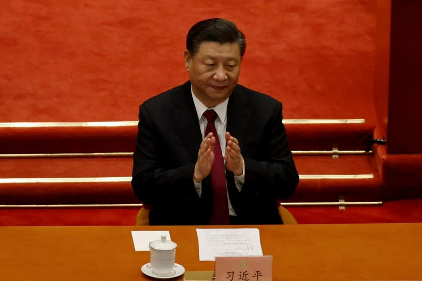 """Chinese President Xi Jinping declared his intention to go after """"platform"""" companies that amass data to create monopolies."""