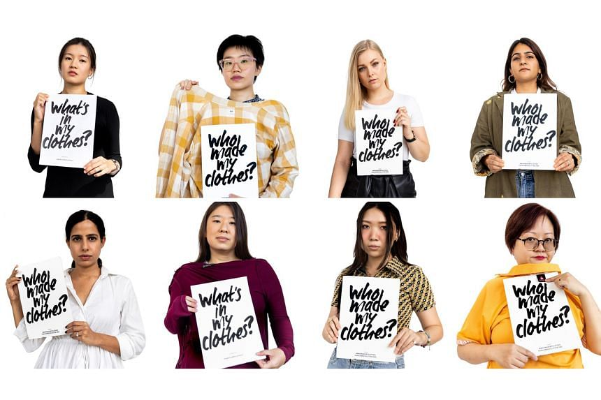 This year's Fashion Revolution theme is Rights, Relationships and Revolution, and topics include fashion waste and garment-worker exploitation.