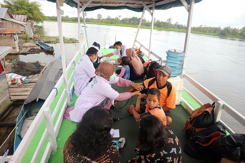 Rimba Raya has launched a floating health clinic that travels along the Seruyan river in Indonesia's Central Kalimantan province. Rimba Raya and Katingan Mentaya use carbon credit sales to support over 40 villages. The projects have developed a wide