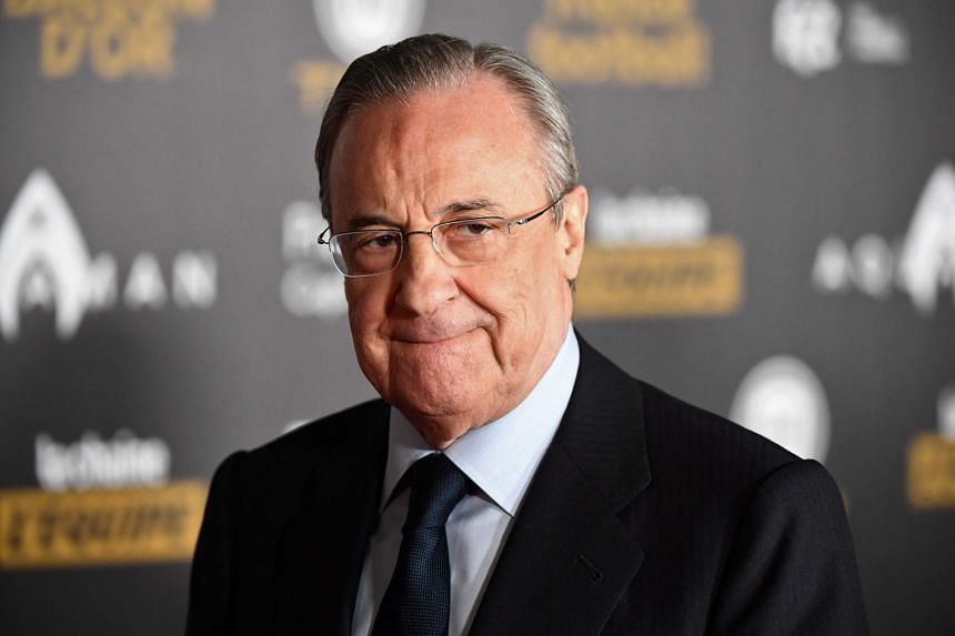 Real Madrid president Florentino Perez was one of the leading figures in the breakaway competition.