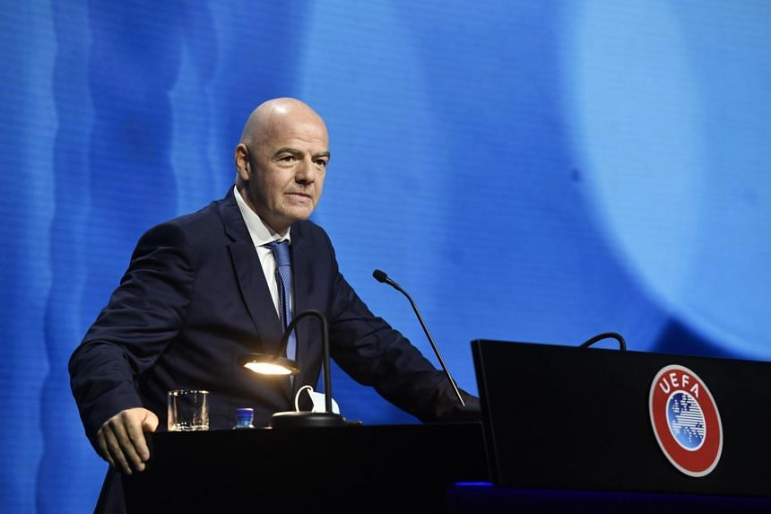 Fifa president Gianni Infantino has kept a relatively low profile throughout the Super League furore but remains committed to big changes.