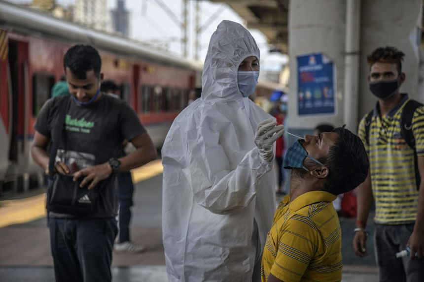 India is in the grip of a rampaging second wave of the pandemic.