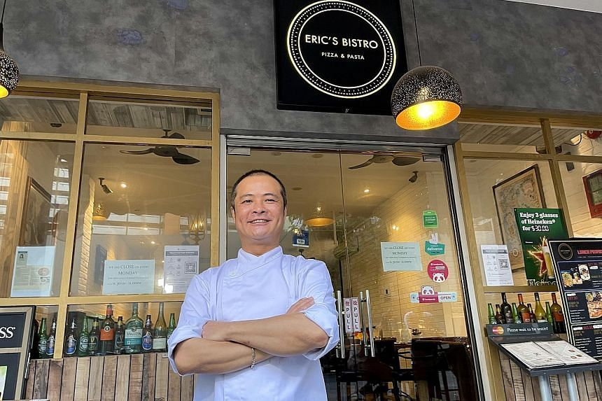 Chef Eric Cheah of Eric's Bistro is scouting for a new location outside the Central Business District, and intends to tweak his concept and menu to offer a wider range of premium wines.