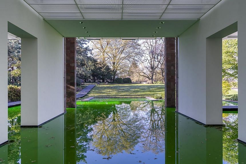 Danish-Icelandic artist Olafur Eliasson's Life installation at the Fondation Beyeler in Riehen, Switzerland, immerses the museum in a border-crossing investigation of people's preconceptions of nature and culture. Eliasson's solo show will be open 24