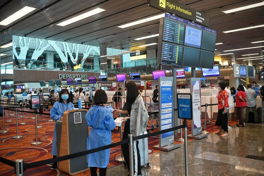 Travellers to Hong Kong will have to wait at Hong Kong International Airport for their Covid-19 test results.