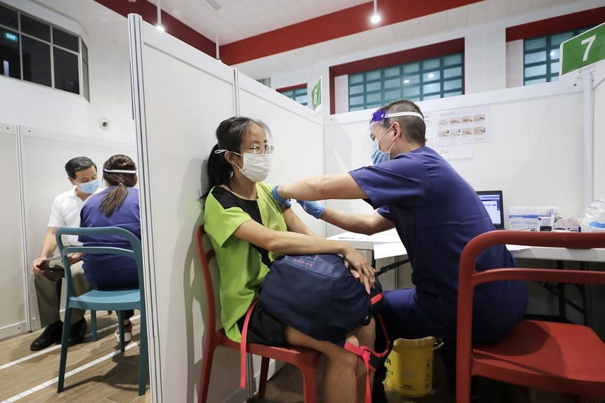 Two in three Singaporeans are willing to take the Covid-19 vaccine if it were offered to them.