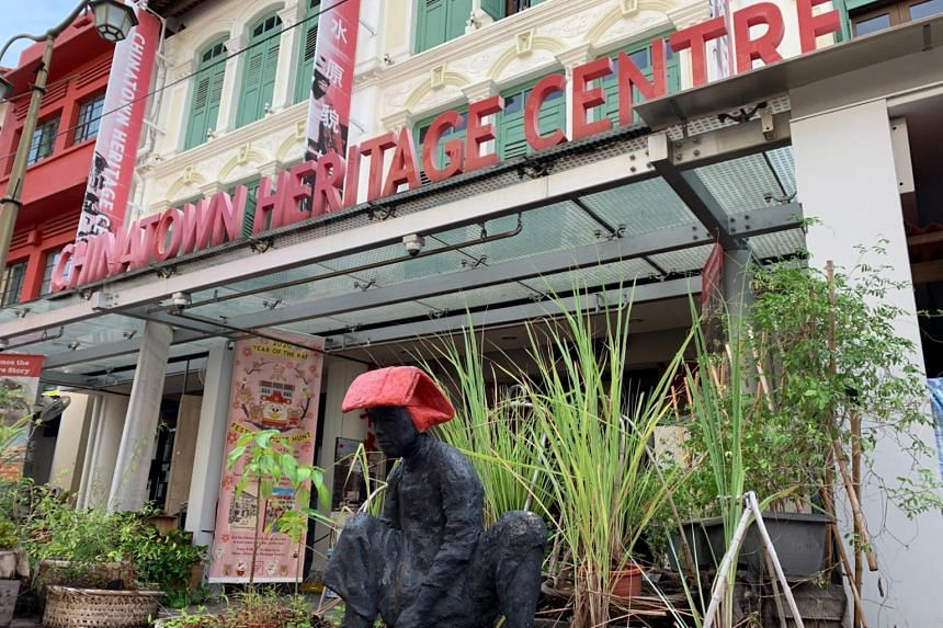Chinatown Heritage Centre was part of a network of privately run - and ticketed - museums here