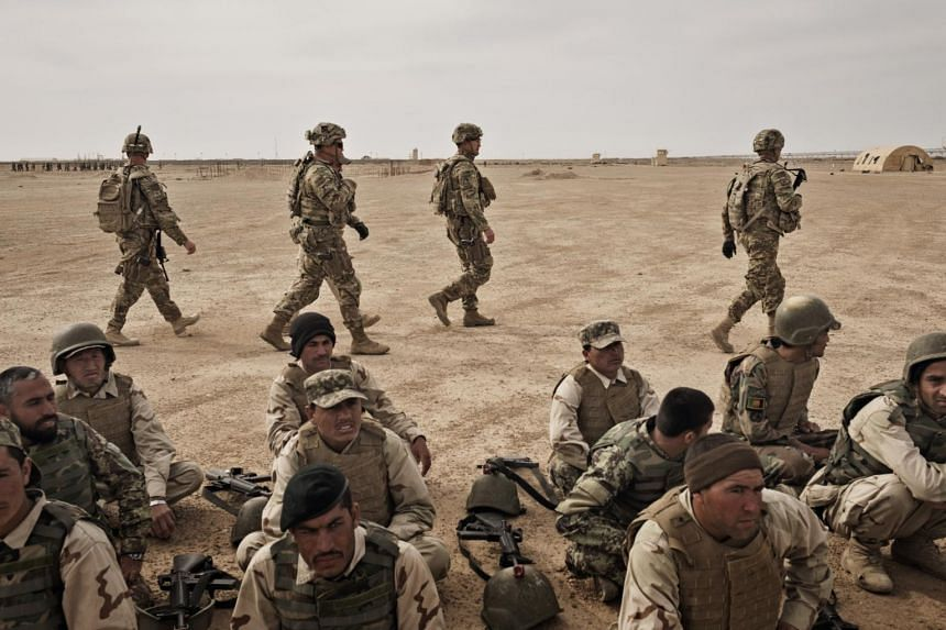 There are roughly 3,500 US troops in Afghanistan and around 7,000 Nato and allied forces.