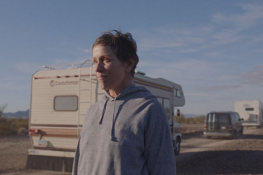 The film stars Frances McDormand as a widow in a depressed Nevada mining town.
