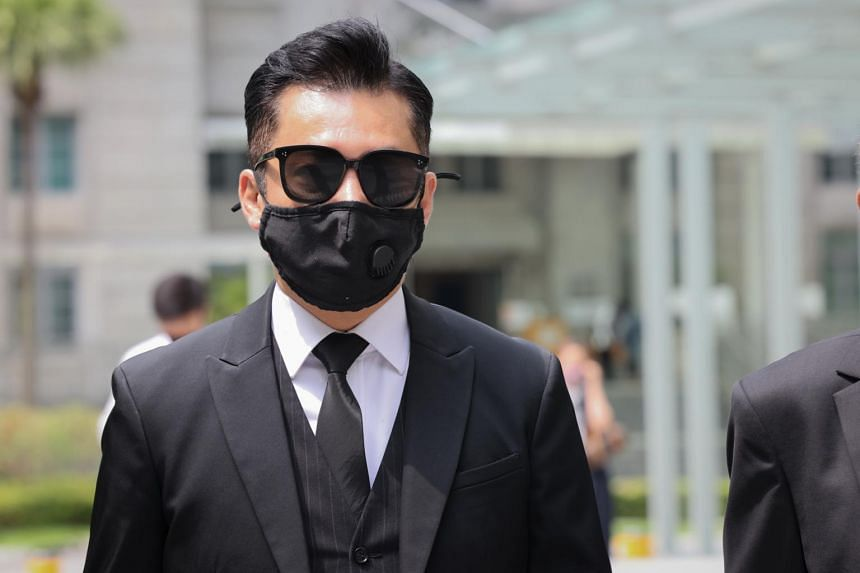 Terence Cao Guohui is said to have allowed 12 guests into the unit.