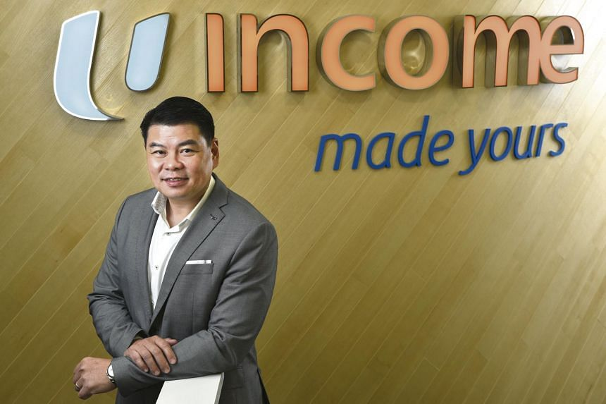 NTUC Income chief executive officer Andrew Yeo believes that to understand the kind of product, loyalty rewards, service, and even time of engagement customers are looking for, hyper-personalisation is necessary. PHOTO: WEE TY