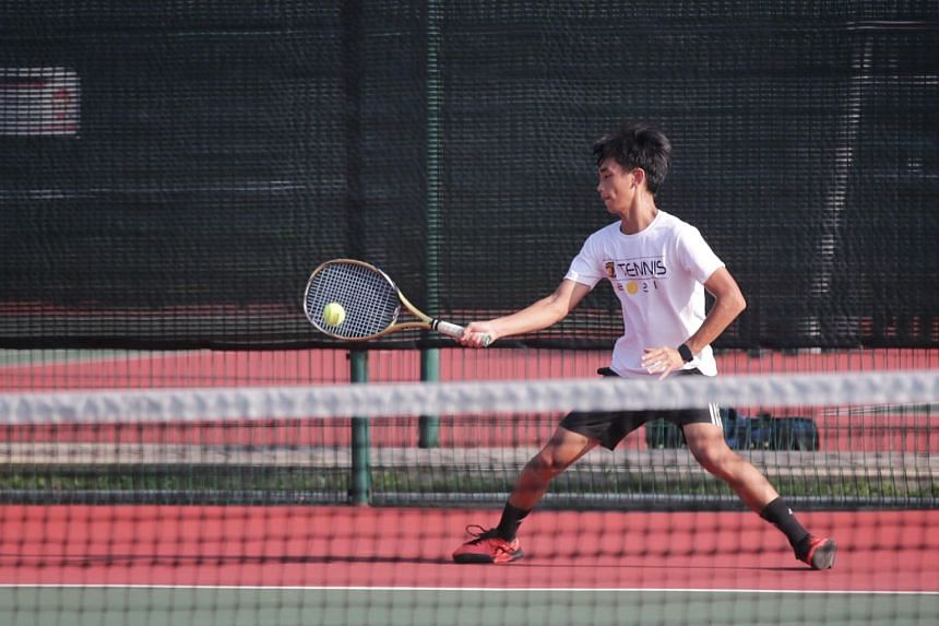 ACS (I) captain Joshua Cheng helped his school win their first Schools National B Division tennis title since 2017 on April 27.