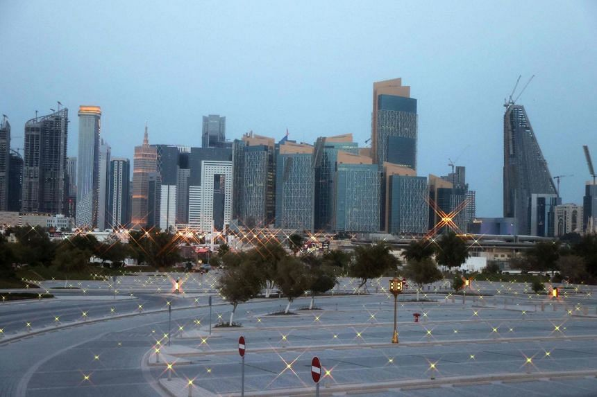 Qatar's rising lobbying clout coincides with a decline in the US' support for neighbouring Saudi Arabia.