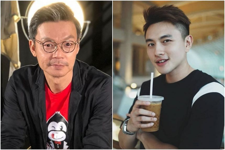 Veteran actor-comedian Mark Lee (left) has said he is open to signing Shane Pow.