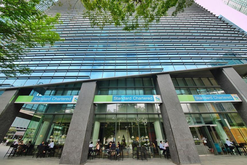 Standard Chartered currently occupies 21 floors in Marina Bay Financial Tower 1 in the business district.