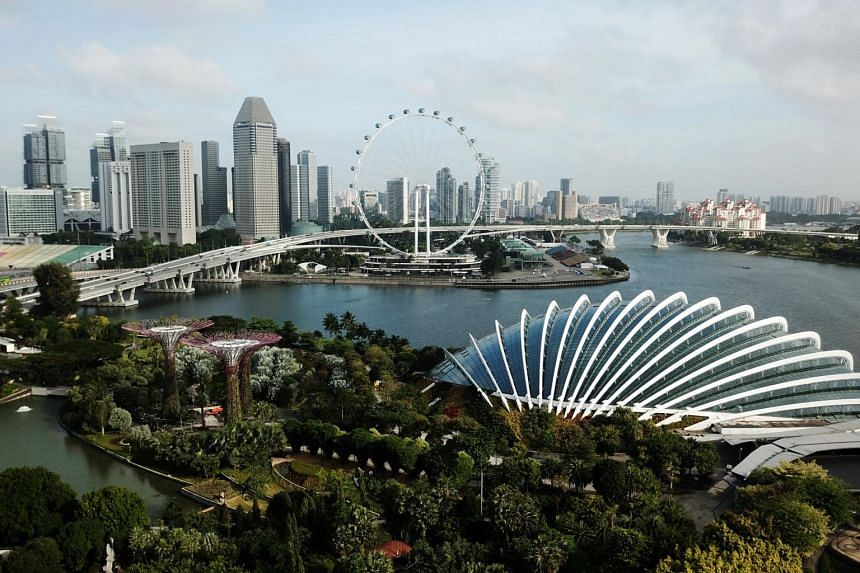 MAS said that Singapore's economic growth is likely to exceed the upper end of the 4 per cent to 6 per cent official growth forecast.