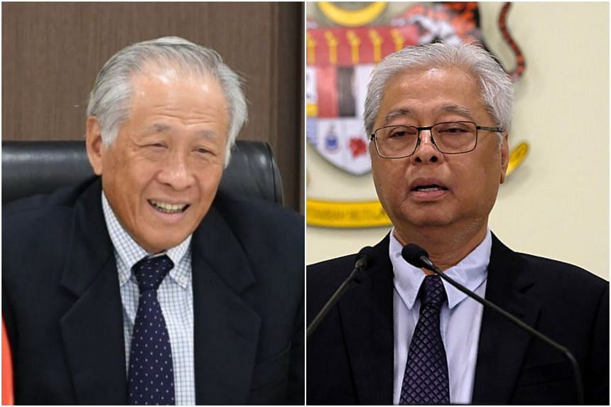 Defence Minister Ng Eng Hen and his Malaysian counterpart Ismail Sabri Yaakob - who met via videoconference - also discussed common security challenges.