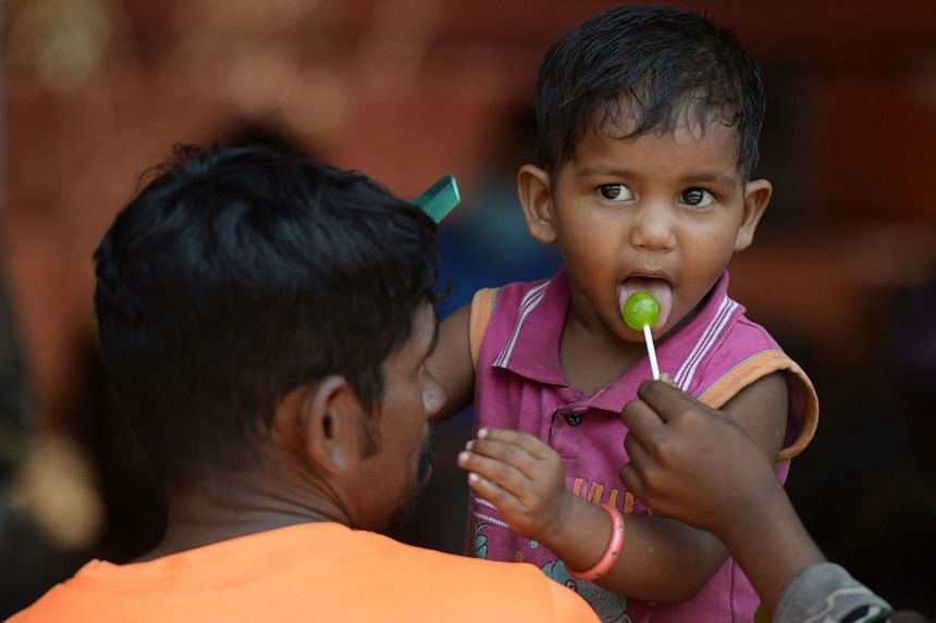 As vaccines approved in India have not been cleared for under those under 18, the only protection for children is masks and social distancing.