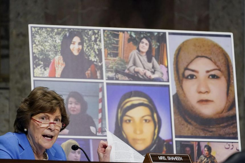 Democratic Senator Jeanne Shaheen said women in Afghanistan remain targets of violence, something that must be stopped.