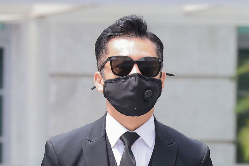 Actor Terence Cao Guohui is said to have breached social distancing rules at a birthday party last year.