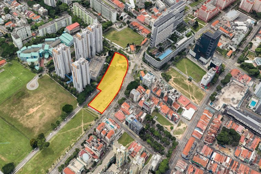 This year's first residential government land sales tender was for a land parcel in Northumberland Road near Little India. The tender closed yesterday. A decision on the award of the tender will be made after the bids have been evaluated.