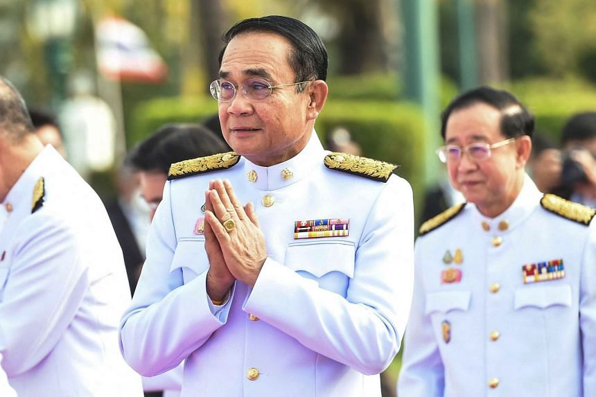 The Cabinet passed a resolution transferring the portfolios of several ministers to the premier, placing Prayut (above) in charge of laws ranging from the Arms Control Act to the Computer Crimes Act.