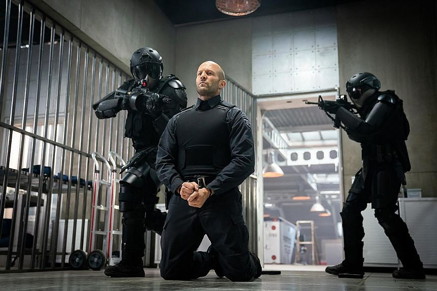 English actor Jason Statham (above) plays an alpha male anti-hero in the action thriller Wrath Of Man.