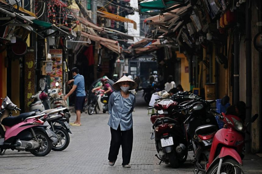 Vietnam had detected its first locally transmitted cases of the coronavirus in 35 days.