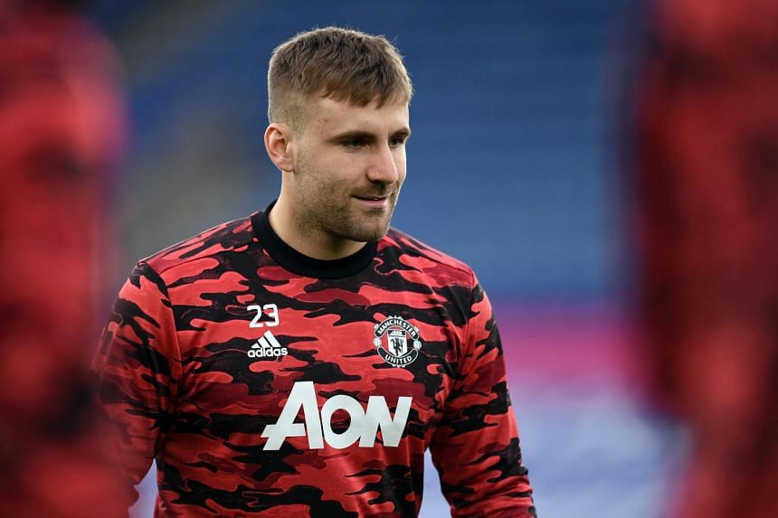 """Manchester United defender Luke Shaw said the prospect of finally lining up in a high-stakes game against Roma was a """"massive motivation""""."""